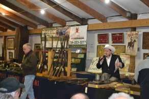 Military and firearm gun auction in Michigan